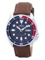 Seiko Automatic Diver's 200M Ratio Brown Leather SKX009K1-LS12 Men's Watch