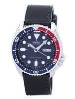 Seiko Automatic dykkerens 200M forholdet svart skinn SKX009K1-LS8 menn ser