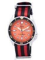 Relógio 200m da OTAN correia SKX011J1-NATO3 masculino do mergulhador Seiko automático