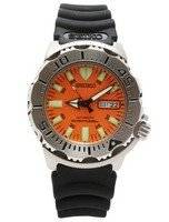 Seiko Divers Automatic 200m Rubber Strap Orange Monster SKX781K3
