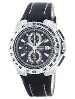 Seiko Quartz Chronograph Alarm SNAB11 SNAB11P1 SNAB11P Men's Watch