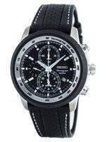 Seiko Chronograph Quartz Alarm Tachymeter SNAB55 SNAB55P1 SNAB55P Men's Watch