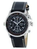 Seiko Pilot Chronograph Quartz Alarm SNAB73 SNAB73P1 SNAB73P Men's Watch