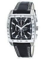 Seiko Quartz Alarm Chronograph Tachymeter SNAC29 SNAC29P1 SNAC29P Men's Watch