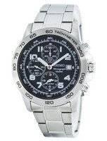 Seiko Quartz Alarm Chronograph Tachymeter SNAC53 SNAC53P1 SNAC53P Men's Watch