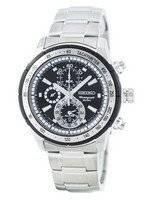Reloj de cuarzo Seiko alarma cronógrafo taquímetro SNAC87 SNAC87P1 SNAC87P de los hombres