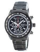 Reloj de cuarzo Seiko alarma cronógrafo taquímetro SNAC91 SNAC91P1 SNAC91P de los hombres