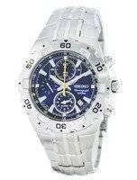 Reloj de cuarzo Seiko alarma cronógrafo taquímetro SNAD33 SNAD33P1 SNAD33P de los hombres
