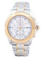 Seiko Chronograph Alarm Quartz SNAE08 SNAE08P1 SNAE08P Men's Watch