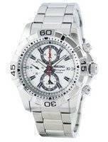 Reloj de cuarzo Seiko alarma cronógrafo SNAE23 SNAE23P1 SNAE23P de los hombres