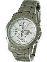 Seiko Alarm Chronograph Titanium SNAE45 SNAE45P1 SNAE45P Men's Watch