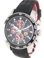 Seiko Sportura Chronograph FC Barcelona SNAE75P1 SNAE75P Mens Watch