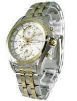 Seiko Chronograph Tachymeter Alarm SNAE82P1 SNAE82 SNAE82P Mens Watch