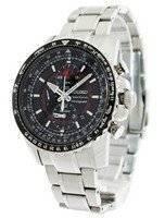 Seiko FLIGHTMASTER Sportura Pilot Chronograph SNAE99 SNAE99P1 SNAE99P Men's Watch