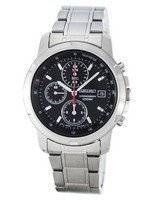 Seiko Chronograph Quartz SNDB03P1 SNDB03P SNDB03 Tachymeter Men's Watch