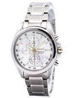 Seiko Titanium Chronograph SNDC95 SNDC95P1 SNDC95P Men's Watch