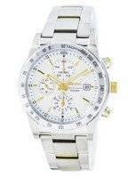 Seiko Quartz Chronograph Tachymeter SNDD07 SNDD07P1 SNDD07P Men's Watch