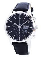 Seiko Chronograph Quartz Sapphire SNDG69 SNDG69P1 SNDG69P Men's Watch