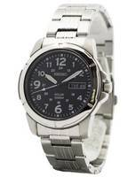 Seiko Solar Quartz SNE095 SNE095P1 SNE095P Men's Watch