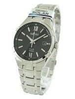 Seiko Solar SNE215 SNE215P1 SNE215P Men's Watch