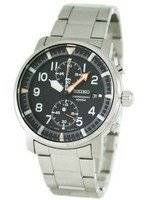 Seiko Sports Tachymeter Chronograph SNN225P1 SNN225 SNN225P Mens Watch