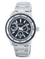Seiko Retrograde Quartz SNT019 SNT019P1 SNT019P Men's Watch
