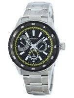 Seiko Retrograde Quartz SNT023 SNT023P1 SNT023P Men's Watch