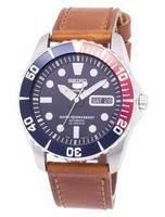 Seiko 5 Sports Automatic Ratio Brown Leather SNZF15K1-LS9 Men's Watch