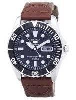 Seiko 5 Sports Automatic 23 Jewels Canvas Strap SNZF17J1-NS1 Men's Watch