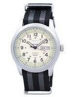 Seiko 5 Sports Military Automatic Japan Made NATO Strap SNZG07J1-NATO1 Men's Watch