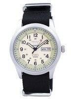 Seiko 5 Sports Military Automatic Japan Made NATO Strap SNZG07J1-NATO4 Men's Watch