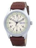 Seiko 5 Sports Military Automatic Japan Made Canvas Strap SNZG07J1-NS1 Men's Watch