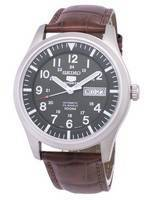 Seiko 5 Sports Automatic Ratio Brown Leather SNZG09K1-LS7 Men's Watch