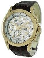 Seiko Men's Watches Premier Chronograph Perpetual SPC054P1 SPC054P