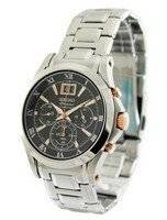 Seiko Premier Chronograph SPC064 SPC064P1 SPC064P Men's Watch