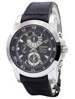 Seiko Premier Chronograph Perpetual Alarm SPC161P2 Men's Watch