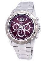 Seiko Lord Chronograph Quartz SPC243 SPC243P1 SPC243P Men's Watch