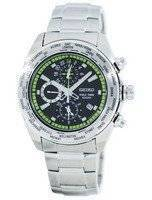 Seiko Premier World Time Alarm Quartz SPL033 SPL033P1 SPL033P Men's Watch