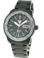 Seiko 5 Sports World Timer Automatic SRP129K1 SRP129 SRP129K Mens Watch