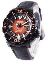 Seiko 5 Sports Automatic Diver's 200M Ratio Black Leather SRP311J1-LS4 Men's Watch