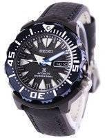 Seiko Prospex Air Diver 200M Ratio Black Leather SRP581K1-LS4 Men's Watch