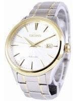 Seiko Automatic 100M White Dial SRP704 SRP704K1 SRP704K Men's Watch