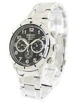Seiko Chronograph Quartz 100M SRW037 SRW037P1 SRW037P Men's Watch