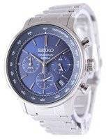 Seiko Chronograph Quartz Tachymeter SSB163 SSB163P1 SSB163P Men's Watch