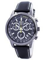 Seiko Quartz Chronograph Tachymeter 100M SSB213 SSB213P1 SSB213P Men's Watch