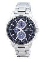 Seiko Solar Alarm Chronograph SSC087 SSC087P1 SSC087P Men's Watch