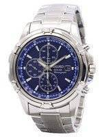 Seiko Solar Chronograph Alarm SSC141 SSC141P1 SSC141P Men's Watch