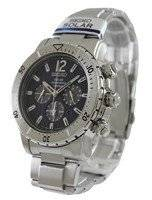 Seiko Solar Chronograph SSC221 SSC221P1 SSC221P Men's Watch