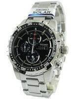 Seiko Solar Alarm Chronograph SSC299 SSC299P1 SSC299P Men's Watch