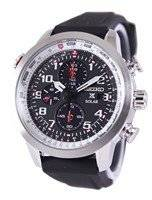 Seiko Prospex Sky Solar Chronograph Pilots SSC351 SSC351P1 SSC351P Men's Watch